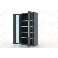 Ferrum 13.2082 Шкаф инструментальный Premium двери со стеклом, с перегородкой и 8 полками