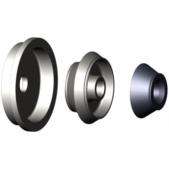 HAWEKA 150 400 026 Набор конусов центровочный 88-174 мм для балансировки колёс внедорожников и лёгких грузовиков