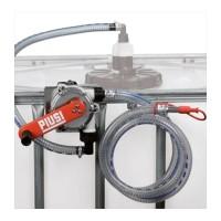 PIUSI F00332B00 Ручной роторный насос на IBC контейнер без фильтра для воды, антифриза, adblue