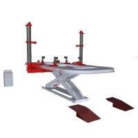 Стапель для правки кузовов с ножничным подъемником SIVER EL-210