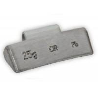 Грузик балансировочный для литых дисков 25 г (100 шт. в упаковке) Dr. Reifen B-25