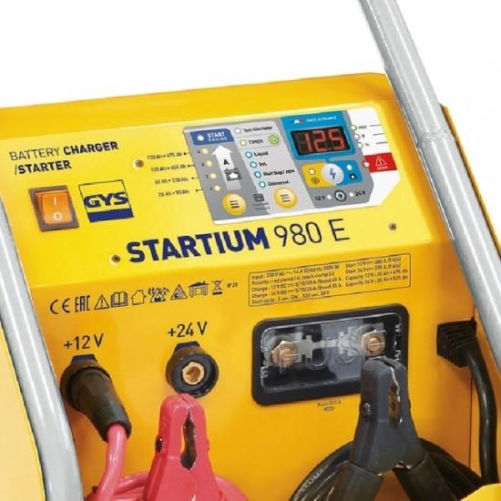 STARTIUM 980E (026506) Автоматическое микропроцессорное пуско-зарядное устройство