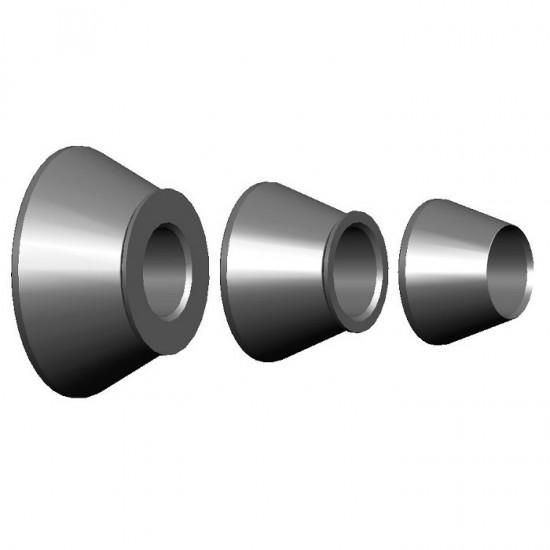 150 360 085 Набор центровочных конусов, 42‐111,5 мм, вал 36 мм HAWEKA