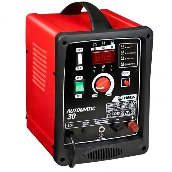 Зарядное устройство 12/24V HELVI Automatiс 30