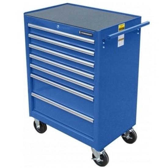BTD-270071CS blu Тележка инструментальная с 7 ящиками