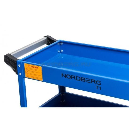 Nordberg T1 Тележка инструментальная открытая 3 полки