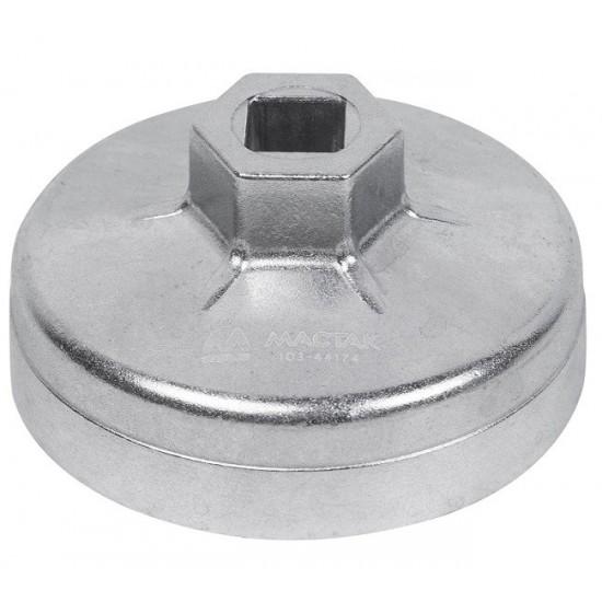 Съёмник масляных фильтров, 74 мм, 14 граней, торцевой МАСТАК 103-44174