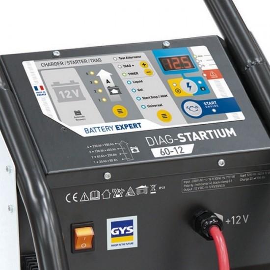 DIAG-STARTIUM 60-12 (026513) Автоматическое пуско-зарядное устройство
