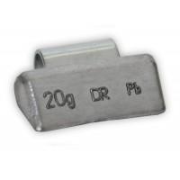 Грузик балансировочный для литых дисков 20 г (100 шт. в упаковке) Dr. Reifen B-20