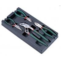 Набор губцевого инструмента, 4 предмета в ложементе Hans TT-12