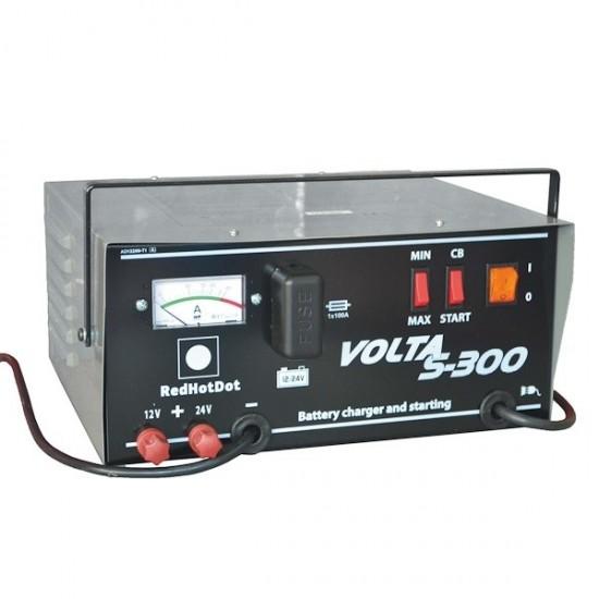 Пуско-зарядное устройство 12/24 V 20-300 Ач RedHotDot VOLTA S-300