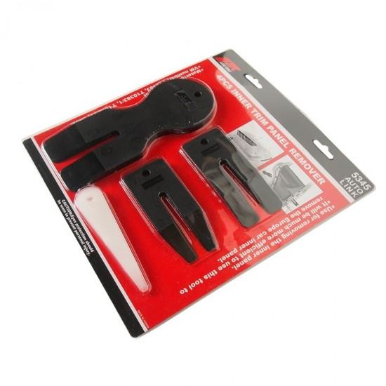 JTC-5345 Набор съемников пистонов обшивки автомобиля 4 предмета