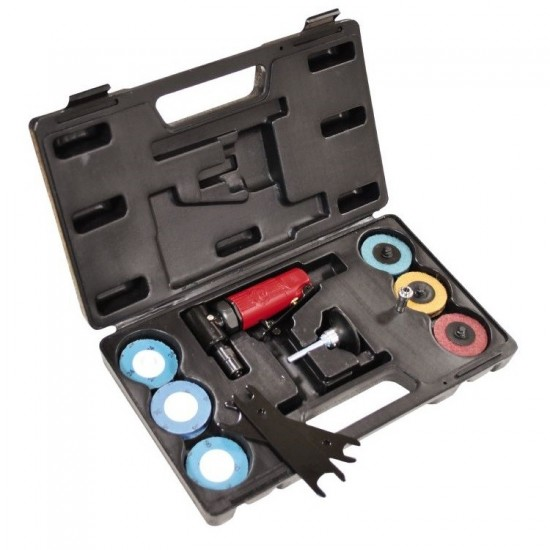 Угловая зачистная мини-машинка в наборе Chicago Pneumatic CP875 Kit (8941108751)