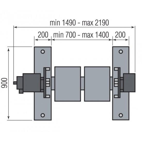 Стенд для переборки ДВС (1200 кг) Ravaglioli R11
