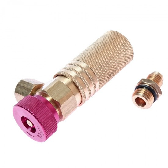 JTC-4801 Соединитель для линий высокого давления (1/4х1/4 М14х1.5) быстросъемный удлиненный
