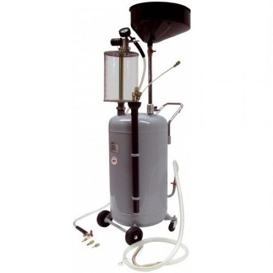 Комбинированная установка для слива и откачки масла 80л APAC 1839.80