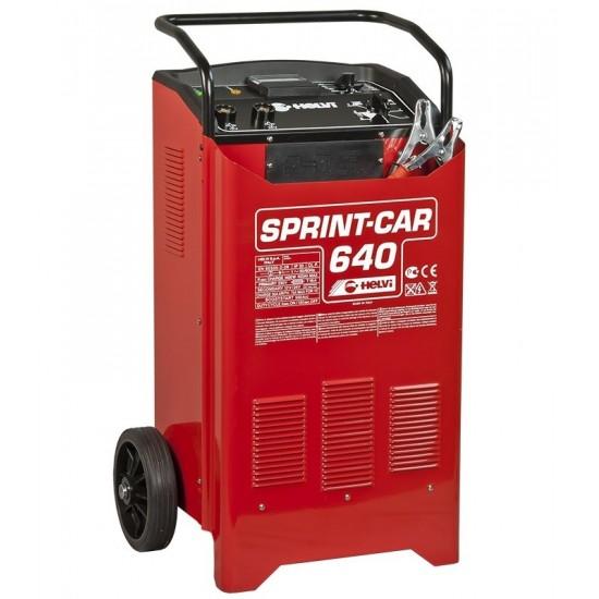 Профессиональное пуско-зарядное устройство 12/24V HELVI Sprint Car 640 (99010542)