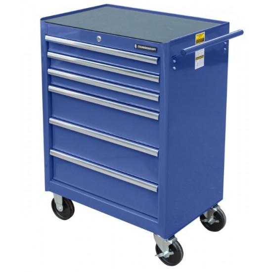 BTD-270061CS blu Тележка инструментальная с 6 ящиками