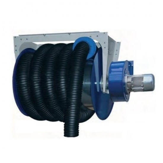 FILCAR ACA-150/10-SB Катушка вытяжная в сборе с шлангом и вентилятором