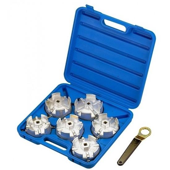 Набор съёмников масляных фильтров, 7 предметов МАСТАК 103-40007C