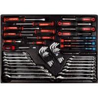 Набор инструмента 72 предмета в ложементе AmPro T46056