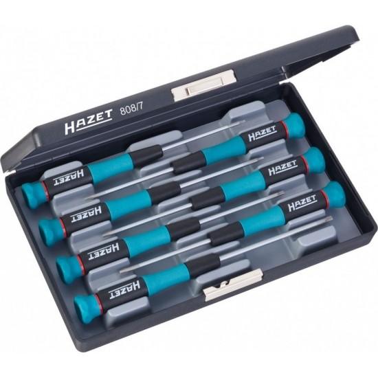 Набор отвёрток TORX для электроники HAZET 808/7