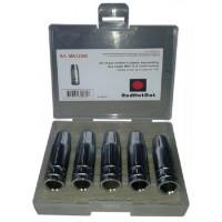5 газовых сопел для горелки 150 А Ø 12 мм в пластиковой коробке RedHotDot MA12005