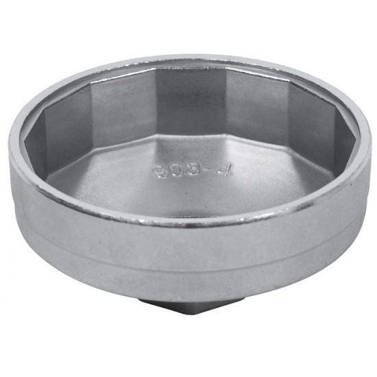 Съёмник масляных фильтров, 73 мм, 14 граней, торцевой МАСТАК 103-44173