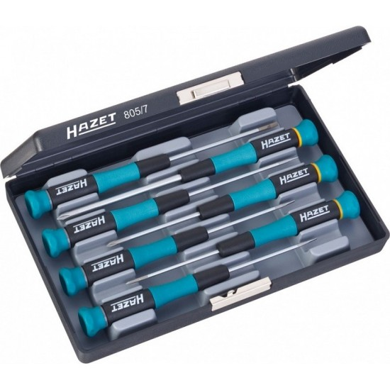 Набор отвёрток для микроэлектроники HAZET 805/7