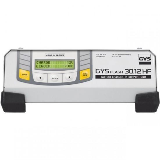 GYSFLASH 30-12HF (029224) Автоматическое инверторное микропроцессорное зарядное устройство