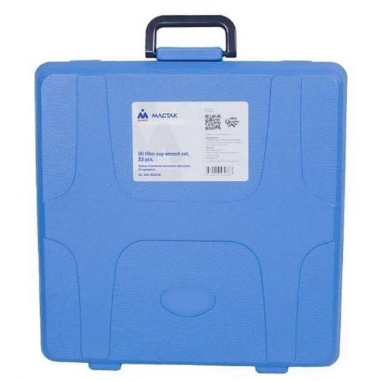 МАСТАК 103-40023C Набор съёмников масляных фильтров, 23 предмета