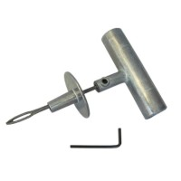 Шило для установки жгутов с ограничителем и металлической ручкой Dr. Reifen RT0002
