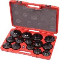 Набор съёмников масляных фильтров, 15 предметов МАСТАК 103-40015C