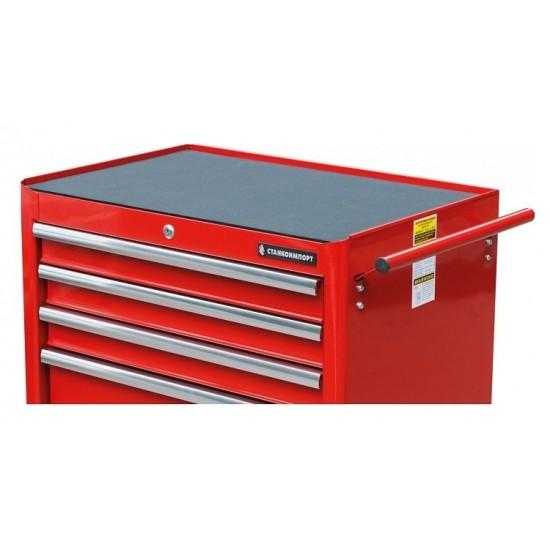 BTD-271051CIS red Тележка инструментальная с 5 ящиков