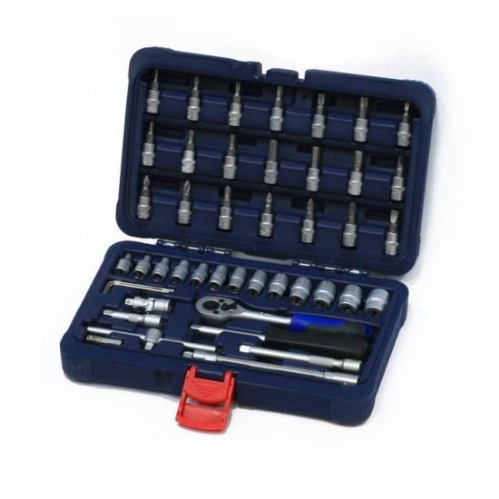 Набор инструмента (46 предметов) СТАНКОИМПОРТ CS-2046PMQ