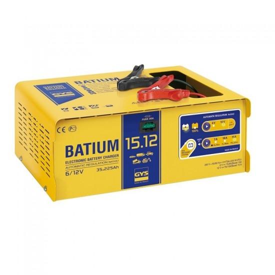 GYS BATIUM 15-12 (024519) Автоматическое микропроцессорное зарядное устройство