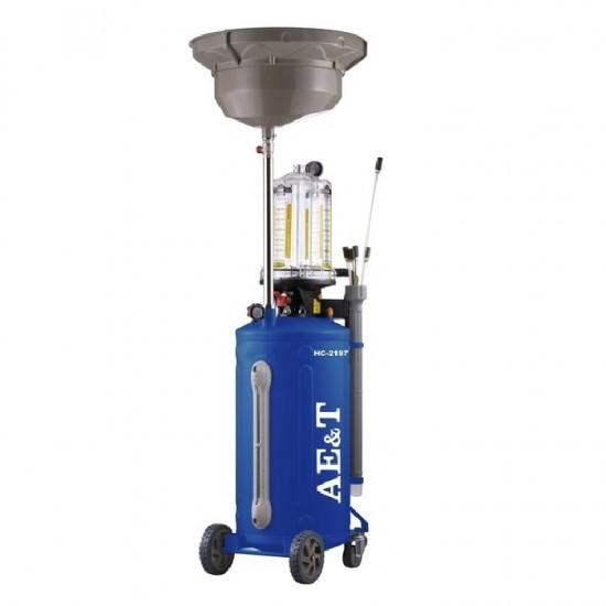 HC-2197 AE&T Комбинированная установка с предкамерой для слива и откачки масла 76 л
