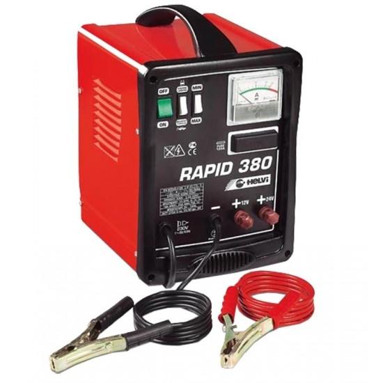 Переносное пуско-зарядное устройство 12/24V HELVI RAPID 380 (99005041)