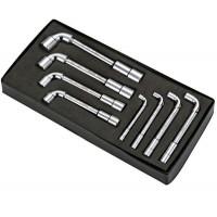 Набор L-образных торцевых ключей, 8 предметов в ложементе HANS TT-37