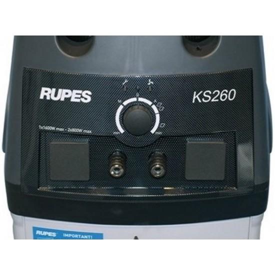 RUPES KS260EP Профессиональный пылесос на 2 поста