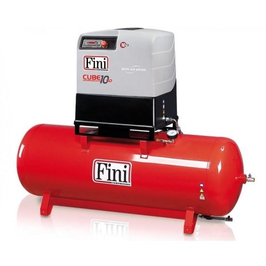 FINI CUBE SD 1010-500F ES Винтовой компрессор с прямым приводом и осушителем