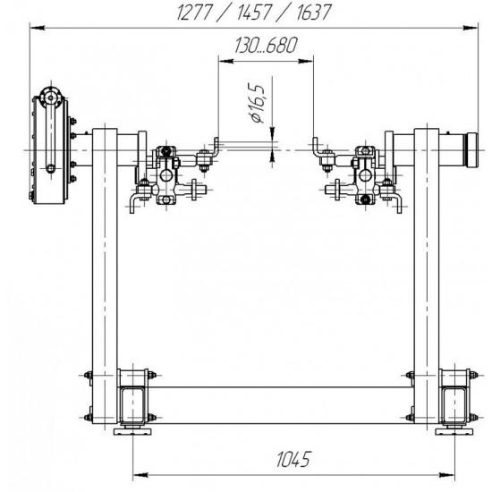 Стенд для разборки и сборки двигателей Р776Е NEWг/п 2000 кг