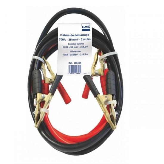 GYS (056404) Комплект пусковых кабелей с бронзовыми зажимами