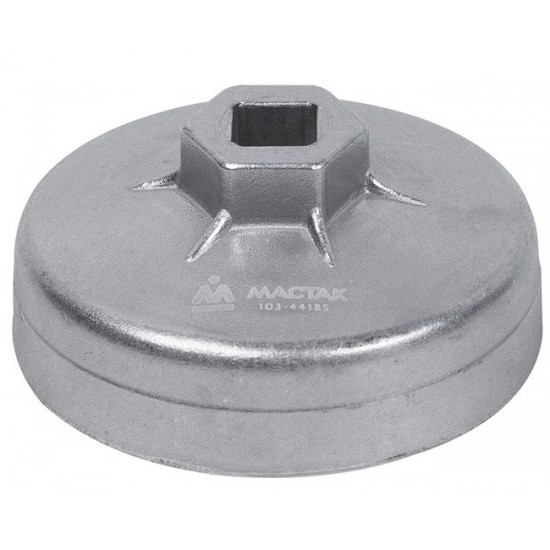 Съёмник масляных фильтров, 78,5 мм, 15 граней, торцевой МАСТАК 103-44185