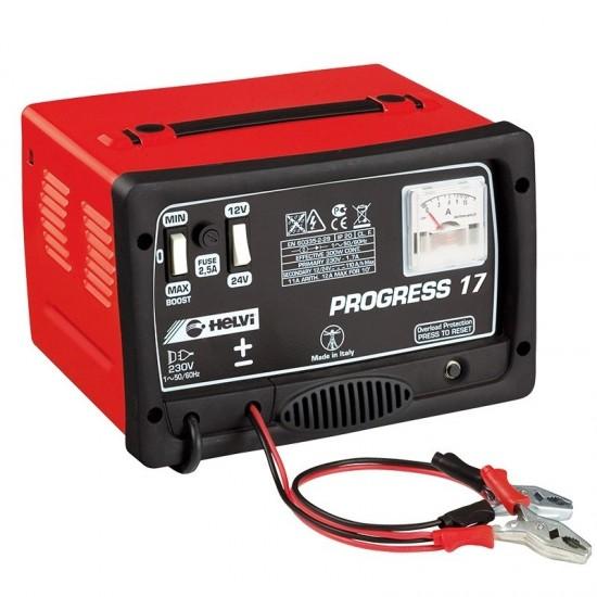 Зарядное устройство 12/24V HELVI Progress 17