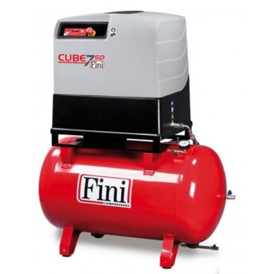 FINI CUBE SD 710-270F ES Винтовой компрессор с прямым приводом и осушителем