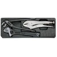 Набор губцевого инструмента 3 предмета в ложементе HONITON IK-ML0030