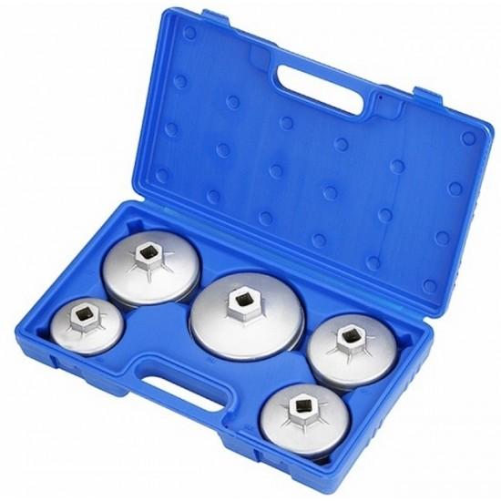 Набор съёмников масляных фильтров, 5 предметов МАСТАК 103-40005C
