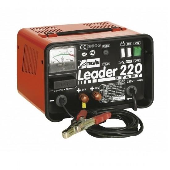 Telwin LEADER 220 start Пуско-зарядное устройство 12/24 V 30-400 Ач