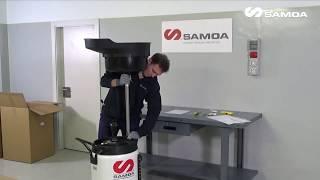 Samoa 372000 Комбинированная установка для слива и откачки масла 100 л с предкамерой